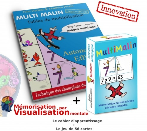 Tables de multiplication r ussite des enfants for Methode pour apprendre table multiplication